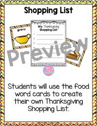 thanksgiving activities for 1st grade thanksgiving literacy center activities teaching with love and