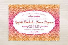mehndi invitation cards mod mehndi wedding invitations by guse brown minted