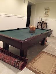 how much to refelt a pool table brunswick billiards 8 hawthorne pool table sold used pool tables