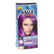 how to mix schwarzkopf hair color schwarzkopf live ultra brights purple punk 094 bright purple
