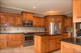 kitchen best kitchen paint colors with oak cabinets backsplash