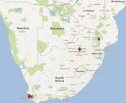 Physical Map Of South Africa by 100 Maps In South Africa Dot Maps Of Racial Distribution In