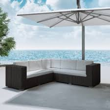 Outdoor Sectional Furniture Clearance by Outdoor Sectional Clearance Wayfair