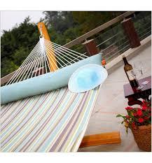 outdoor and indoor quilted sunbrella fabric hammock patio
