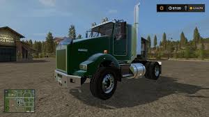 old kw trucks kst kenworth t800 fixed v2 4 fs17 farming simulator 17 mod fs