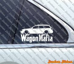 2005 subaru legacy custom wagon mafia decals stickers ebay