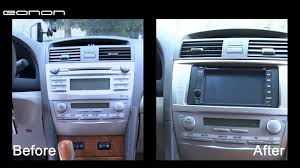 gps toyota camry how to install eonon general dvd gps on toyota camry autoevolution