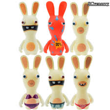 rayman raving rabbids pvc action figures collectible model toys
