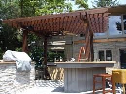 How To Build A Wood Awning Over A Deck Building Detached Pergola On Concrete Need Advice Construction