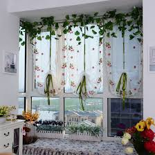 Kitchen Sheer Curtains by Online Get Cheap Strawberry Kitchen Curtains Aliexpress Com