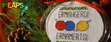 2nd eaps ornament contest and social mit department of