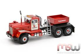 kenworth truck models model imc kenworth 848 solo tractor 3 axle 1 50