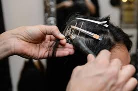 hair weaves for balding men hair extensions are latest thing for a well tressed man ny daily