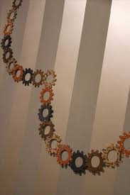 steampunk your halloween decorations with these diy interlocking