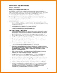 Stockroom Associate Resume 11 Operations Associate Job Description Address Example