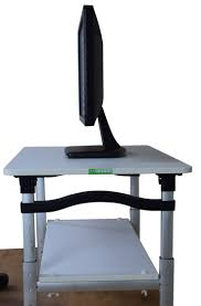 Desktop Computer Stands 9 Best Height Adjustable Monitor Stand Images On Pinterest