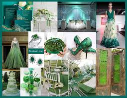 city wedding decorations emerald city wedding theme pantone s color of the year for 2013