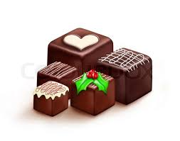 christmas chocolates christmas chocolates stock photo colourbox