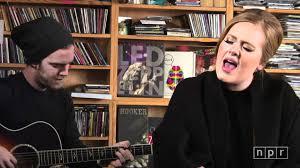 Npr Small Desk Adele Npr Tiny Desk Concert