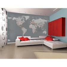 silver map wall mural iwoot
