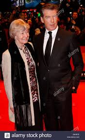 The Ghost Writer Irish Born Actor Pierce Brosnan And His Mother May Carmichael