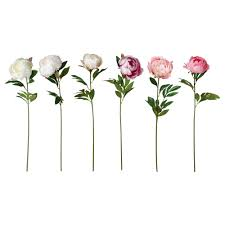 smycka artificial flower ikea home and decor mostly candles
