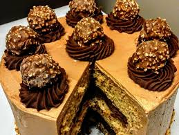 gourmet birthday cakes ferrero rocher truffle layer cake cake delivery order cake with