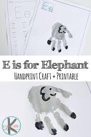 letter e crafts kindergarten worksheets and letter e worksheets handprint