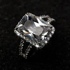 ringe verlobungsringe die besten 25 rechteck verlobungsringe ideen auf