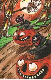 673 best halloween ephemera images on pinterest vintage