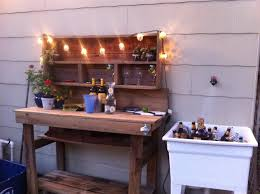 the perfect backyard bar setup for a picture perfect life