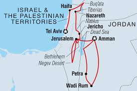 Blank Map Of Israel And Palestine by Jordan Israel U0026 The Palestinian Territories Real Food Adventure