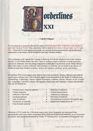 cfp class cfp borderlines xxi in ucc shakespeare in ireland