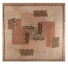 Deco Rugs Gold Background Art Deco Chinese Carpet 47564 Art Deco Rugs
