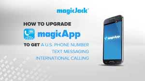 magicjack app android how to upgrade your free android magicapp to get a us phone number