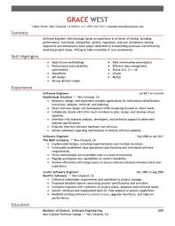 resume exles for it resume for software engineer software engineer resume templates