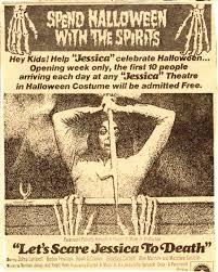 let u0027s scare jessica to death horror movie newspaper ads