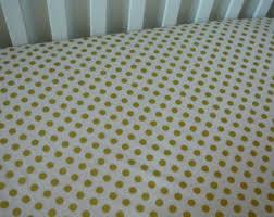 polka dot crib sheet etsy