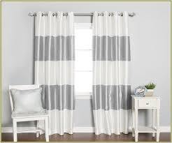 Brushed Silver Curtain Rods Curtain Glamorous White Black Out Curtains White Room Darkening