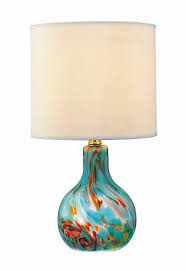 pacific coast lighting ls l pacific coast lighting aqua cascade table l hayneedle aqua