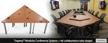 Modular Conference Table System Conference Room Tables And Computer Conference Tables Smartdesks