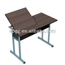 Folding Art Desk Popular Art Students Used Height Adjustable Folding Art
