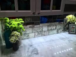 mirror tile backsplash kitchen kitchen mirror or glass backsplash the shoppe a division of img