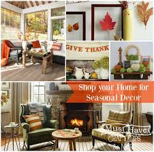 tips shop your home for seasonal decor mine for the making