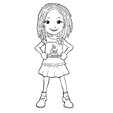 printable 8 little coloring pages 10489 groovy girls