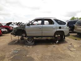 pontiac aztek yellow junkyard find 2003 pontiac aztek the truth about cars