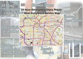 Shower Door Repair Service by 24 Hour Emergency Glass Repair In West Hollywood Glass Aluminum