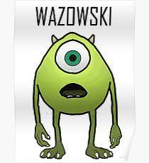 mike wazowski posters redbubble