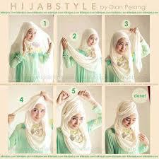tutorial pashmina dian pelangi cara memakai jilbab segipanjang by dian pelangi hijab fashion