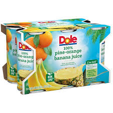 dole fruit snacks dole fruit juice pineapple 6 fl oz 6 count corporate perks